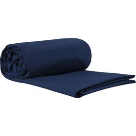 Sea to Summit Premium Cotton Travel Betræk Traveller med pudeindsats, blå